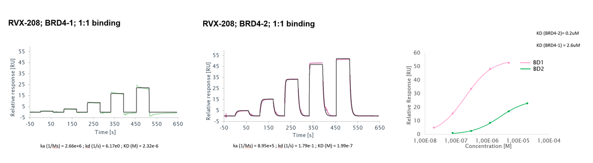 surface plasmon resonance compound screening for binding affinity determination