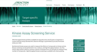 Kinase Assay Screening Thumbnail