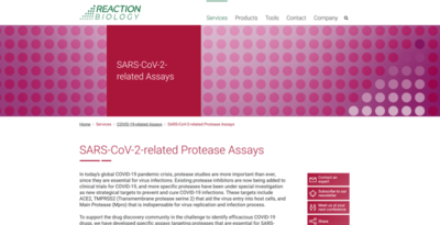 SARS-CoV-2-related Protease Assay