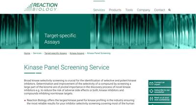 Kinase Panel Screening Thumbnail