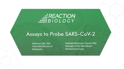 webinar SARS-cov-2 assays for drug discovery